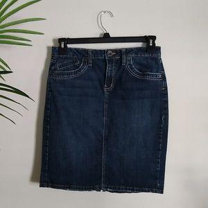 Apt. 9 Denim Jean Pencil Skirt 10
